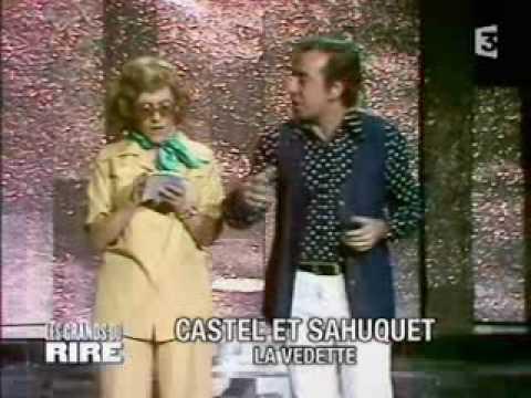 Robert Castel et Lucette sahuquet .la vedette