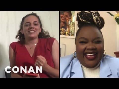 Sona Crashes Conan's Interview With Nicole Byer - CONAN on TBS