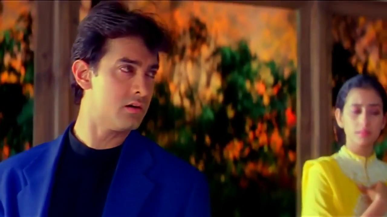 Khushiya Aur Gham Sehti Hai   Mann (1999)   Amir Khan & Manisha Koirala   1080p Full HD