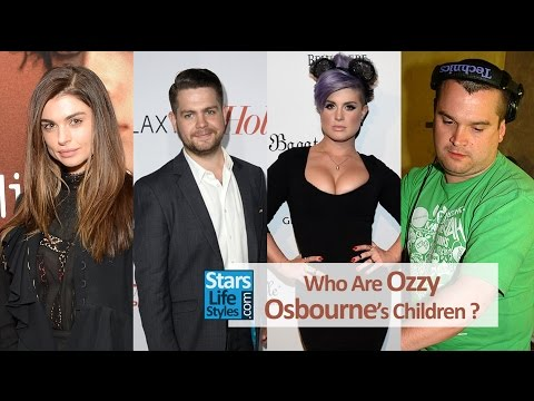 Who Are Ozzy Osbourne's Children ? [3 Daughters And 3 Sons] | Black Sabbath Singer