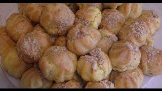 Профитроли,заварные пирожные. (Eclairs, custard cakes.)
