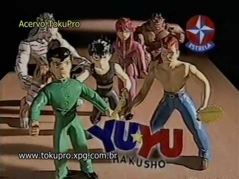 Propaganda Brasileira dos bonecos do YU YU Hakusho da Estrela