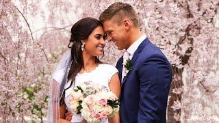 Salt Lake Temple Wedding // Chase + Jenessa