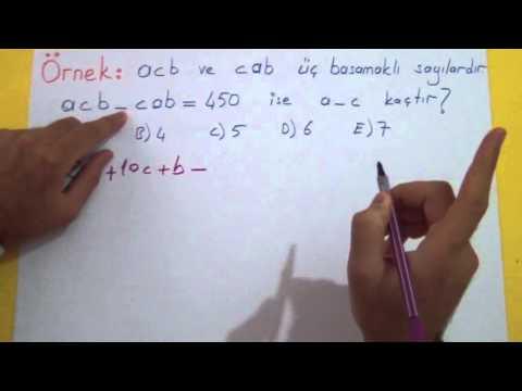 Doğal Sayılar 2 - (Çözümleme) Şenol Hoca Matematik