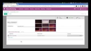 Odoo video demonstratie versie 10 | Manufacturing