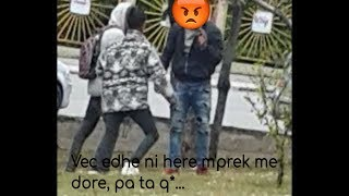 Rrahje ne Prishtine midis dy te rinjeve!