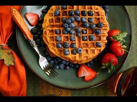 Gluten Free Pumpkin Waffles Recipe