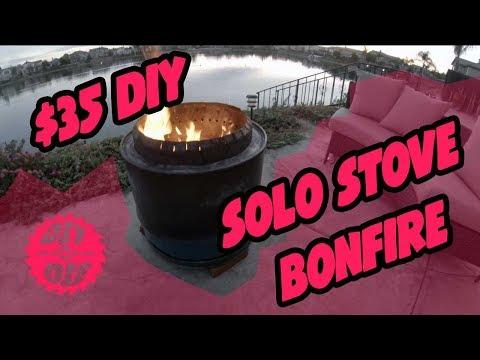 $35 DIY Solo Stove Bonfire