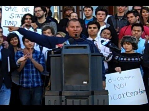 UC Berkeley Rally in Sacramento