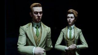BioShock Infinite - The Luteces (All cutscenes - Part 1)