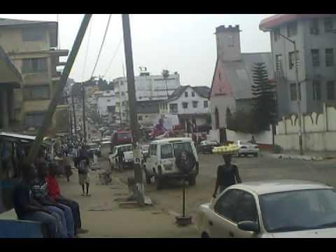 The streets of Monrovia, Liberia