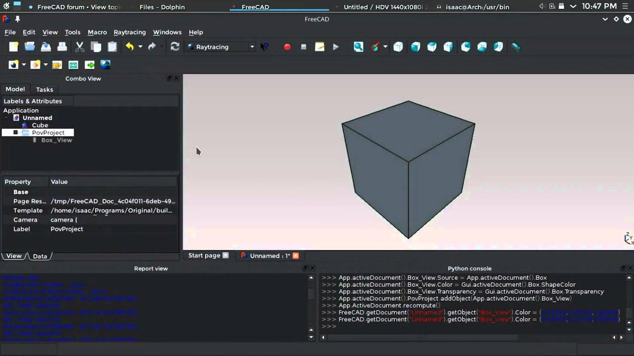 Pov Ray Ubuntu