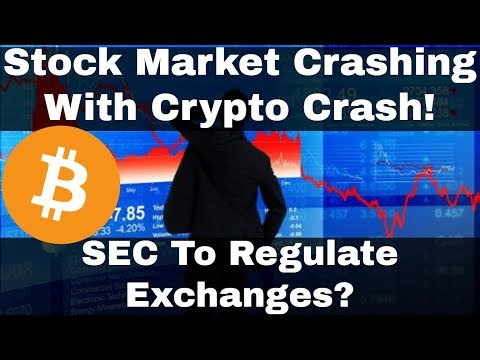 Crypto News | Stock Market Crashing With Crypto Crash! SEC Looking To Regulate Exchanges