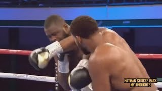MICHAEL HUNTER KNOCKS OUT MARTIN BAKOLE!!! POST FIGHT REVIEW (NO FOOTAGE)