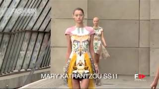 MARY KATRANTZOU Spring Summer 2011 London - Fashion Channel