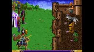 Heroes of Might and Magic: A Strategic Quest (MS-DOS) Intro und Gameplay