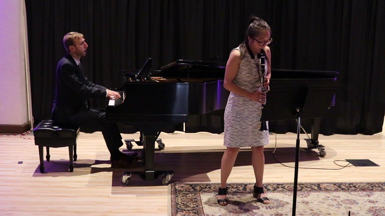 Carlos Guastavino - Sonata para clarinete y piano