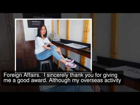 Hyerim Receives Certificate From Ministry Of Foreign Affairs