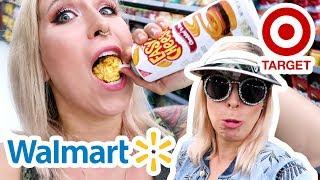 Co można znaleźć w amerykańskich marketach? Walmart & Target tour 😂| Agnieszka Grzelak Vlog