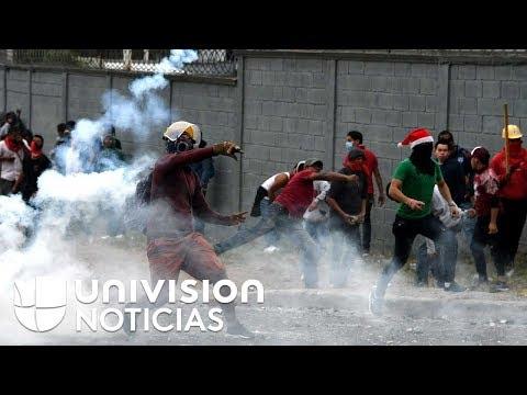 Sube la tensión en Honduras por la ventaja de Juan Orlando Hernández en las elecciones