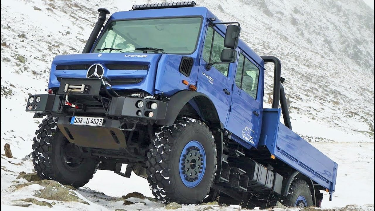 Mercedes Benz Unimog >> 2019 Mercedes Unimog U 4023 Winter Off Road