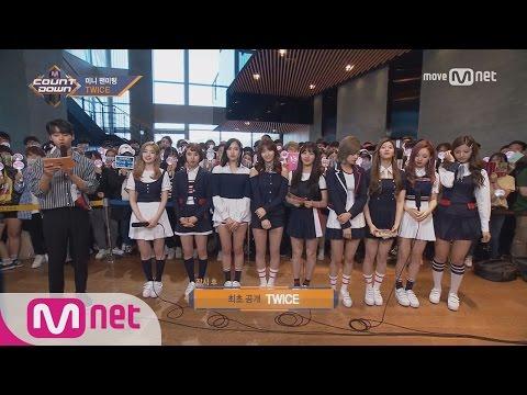 [Mini Fanmeeting with TWICE] KPOP TV Show | M COUNTDOWN 170518 EP.524