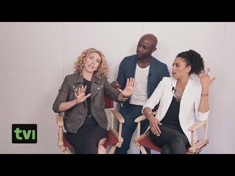 Claudia Black & Containment cast interview 2015 TVI