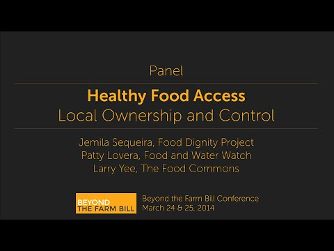 Beyond the Farm Bill - Healthy Food Access