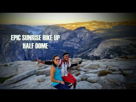 Half Dome, Yosemite: Epic All Nighter Sunrise Hike