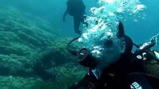 Diving in Majorca in May