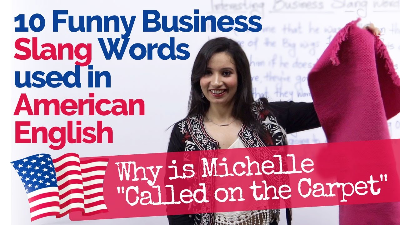 10 Business English Slang Words used in daily Spoken English – US/American English