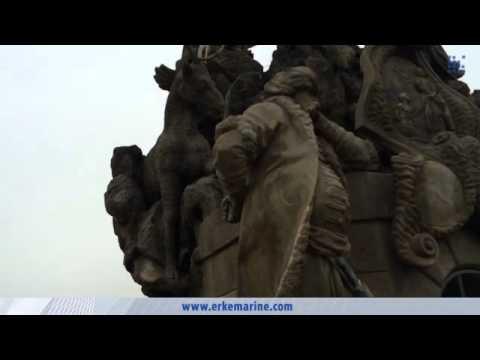 ERKE Marine, Turkish (Muslim Statue) at Charles Bridge in Prague / Czech Republic