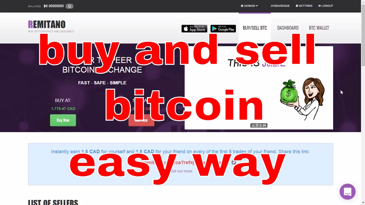 buy bitcoin easy and fast
