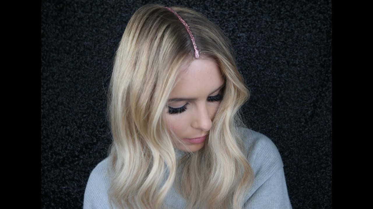 glitter hair - day 5 week