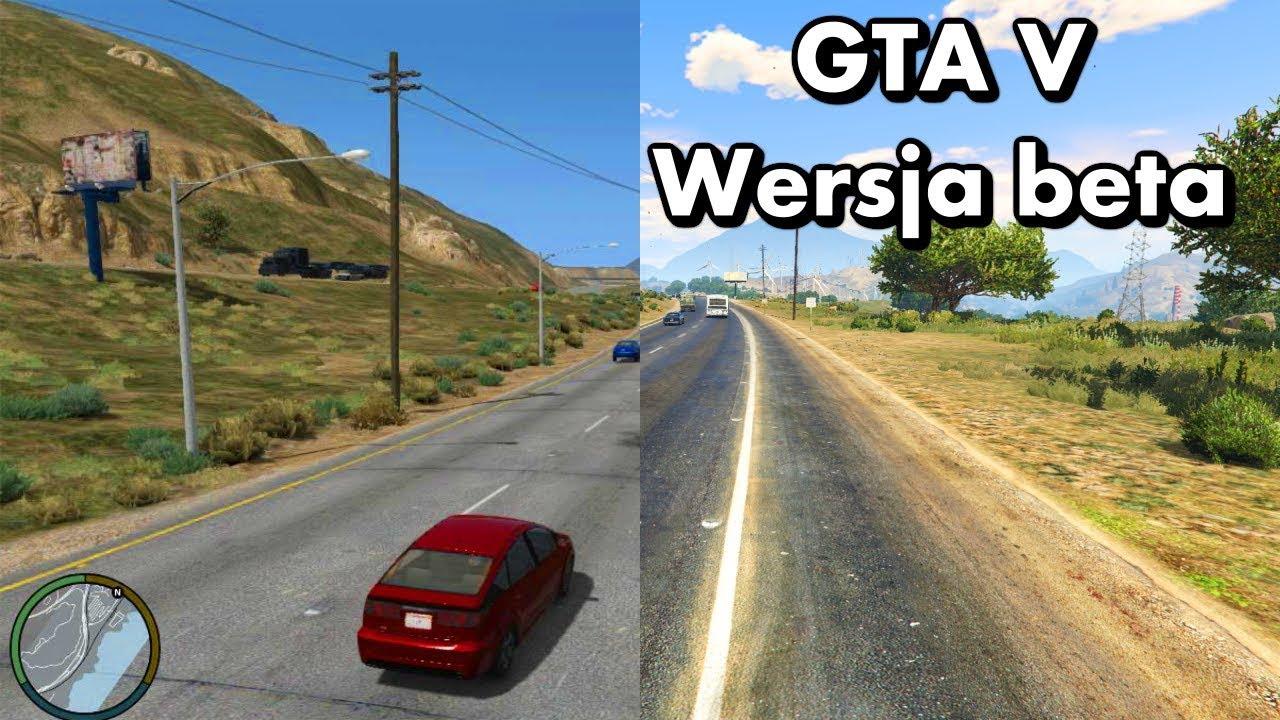 GTA V – Ciekawostki – Jak wyglądała wersja beta?