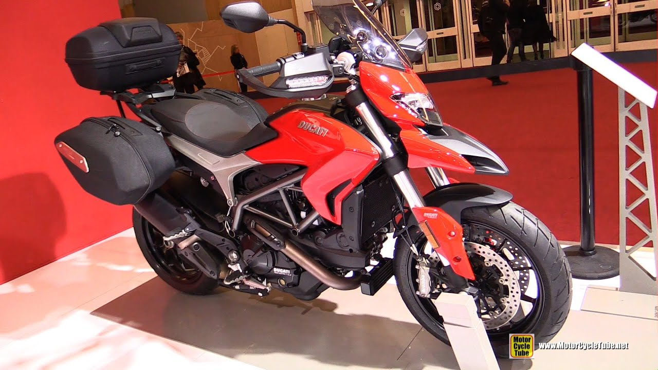 2016 ducati hyperstrada 939 accessorized walkaround 2015 salon de la moto paris youtube. Black Bedroom Furniture Sets. Home Design Ideas