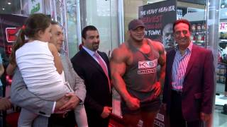 KABS FitFactory Launch Event with the One and Only Big Ramy