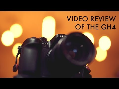 Video review of the Panasonic GH4