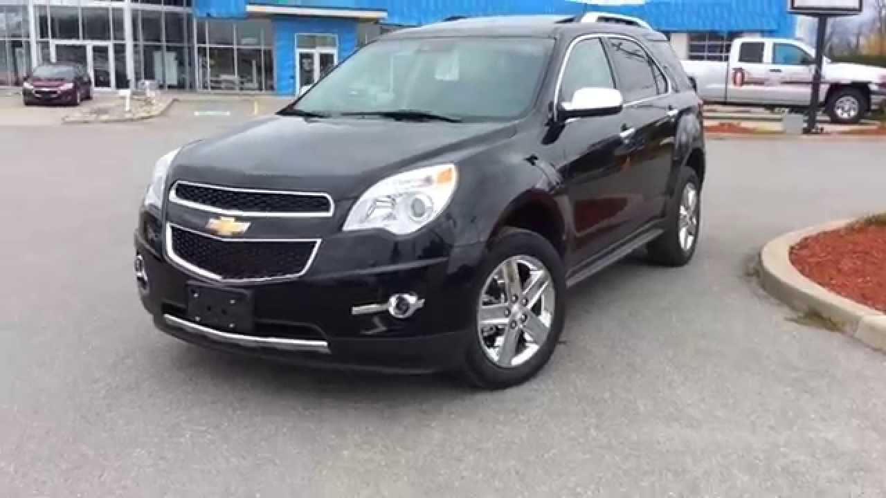 Equinox black chevy equinox : 2015 Chevrolet Equinox AWD 4dr LTZ - YouTube