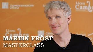 Masterclass amb Martin Fröst - Cicle Liceu Cambra