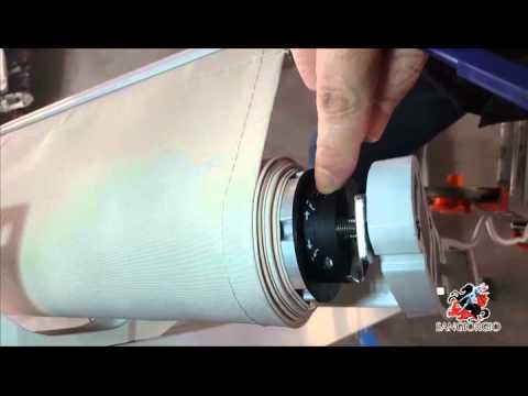 Motorizzare Tende Da Sole.Sangiorgio Srl Regolazione Finecorsa Apertura Tenda Da Sole Youtube