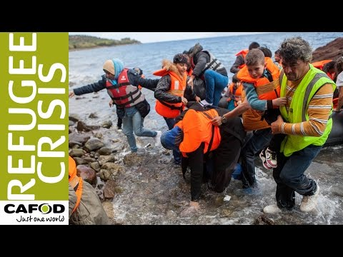 CAFOD responds to refugee crisis on Lesbos