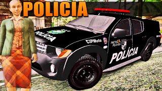 GTA Policia - Trabalho de Policial e Idosa do Crime