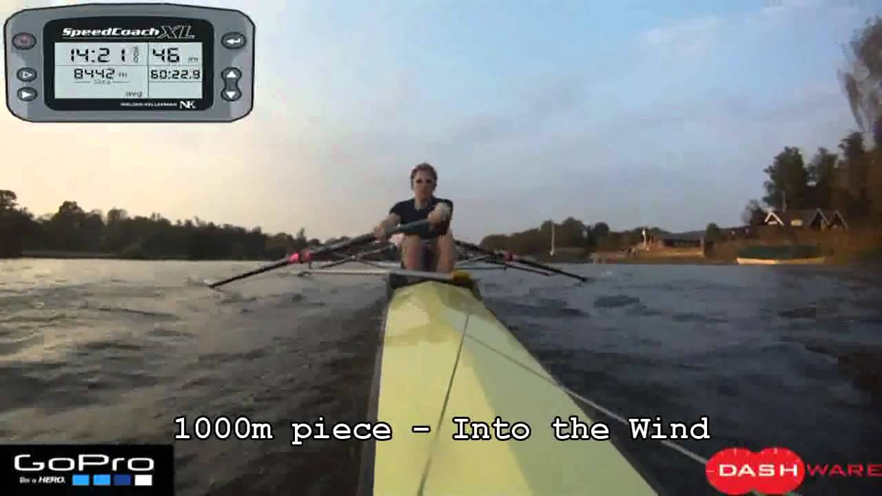 Overlaying speedcoach data ontop of video | rowingmusings