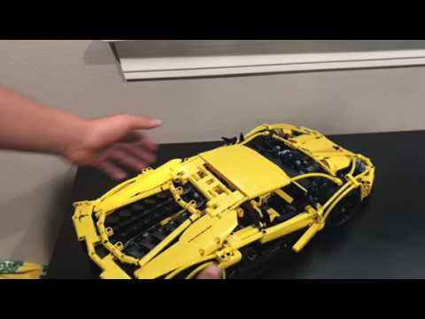 Lego Technic Lamborghini Aventador Lp 720 4 Youtube