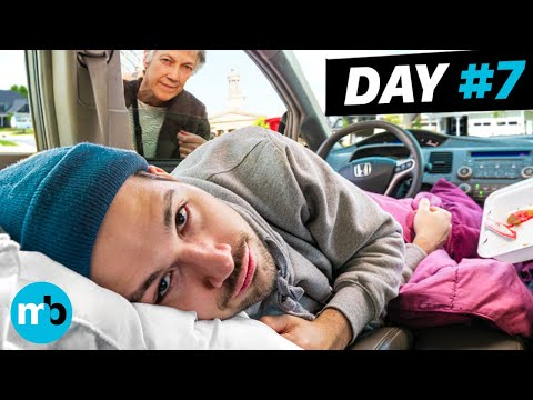 I Tried Living in My Car for 1 Week in Los Angeles (NEVER AGAIN)