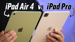 2020 iPad Air 4 vs 2020 iPad Pro - Full Comparison!