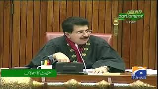 Abdul Ghafoor Haideri Ka Senate Main Izhar-e-Khayal