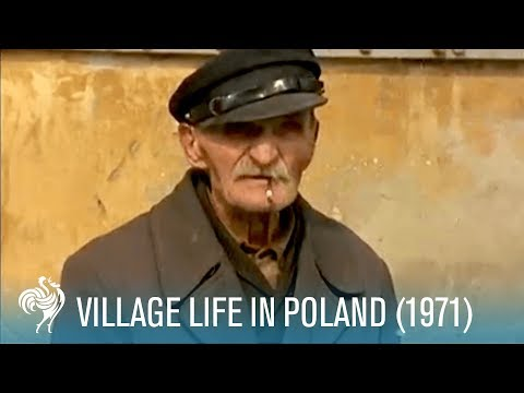Village Life In Poland: Rural Living (1971) | British Pathé