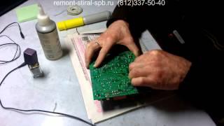 Ремонт модуля стиральной машиныElectrolux Zanussi. Замена конденсатора и микросхемы Санкт-Петербург(, 2015-07-08T08:02:25.000Z)